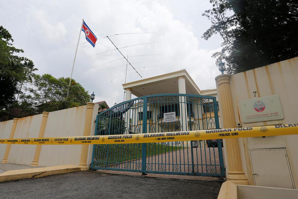 سفارت کره شمالی در مالزی پس از اخراج سفیر(+عکس)