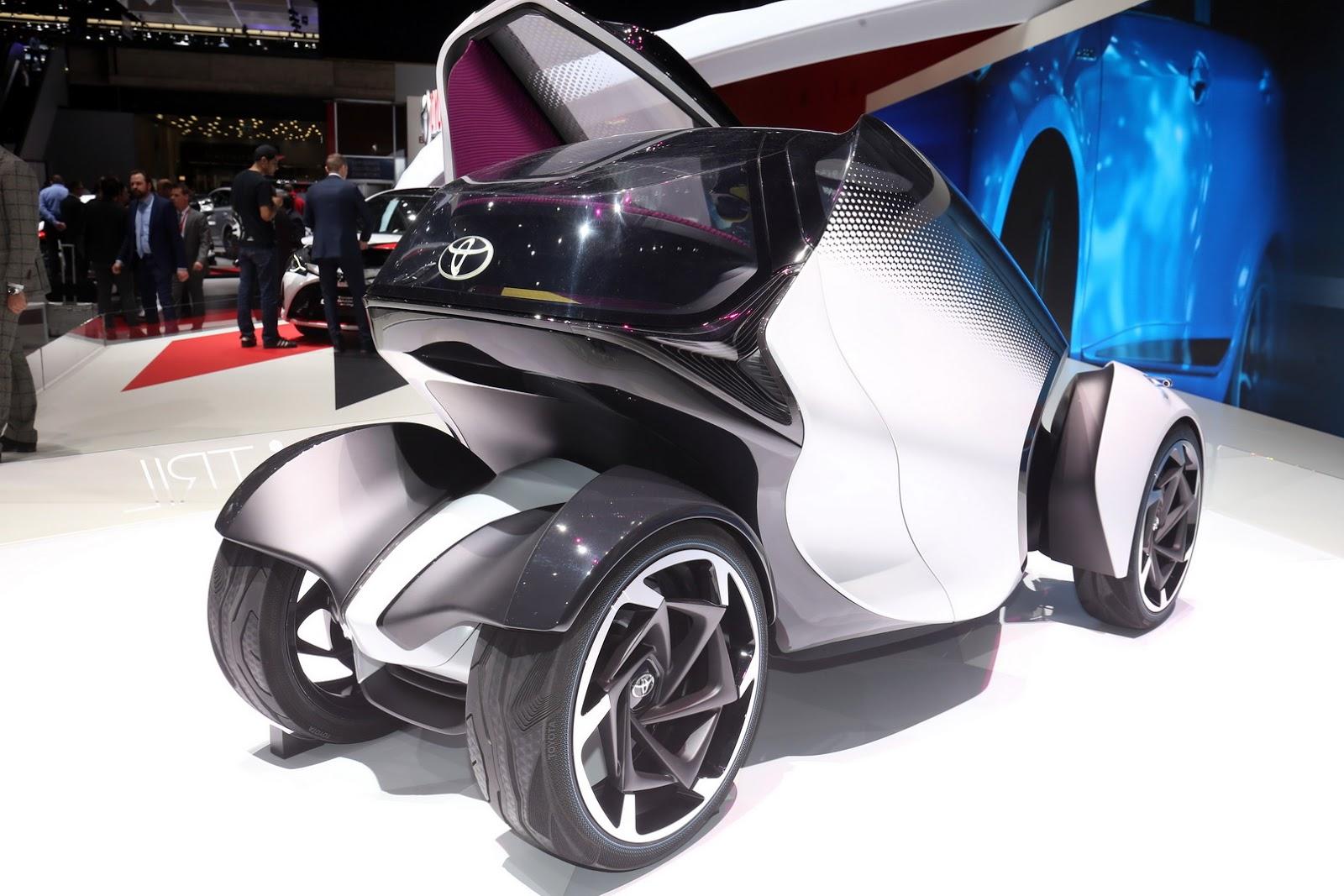 خودروی مفهومی تویوتا در ژنو (+عکس)