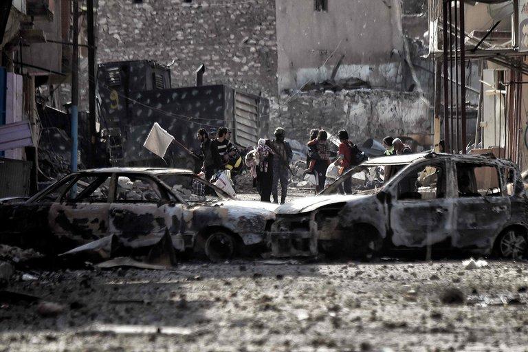 آخرین وضعیت جنگ با داعش در موصل/ چقدر تا شکست کامل تروریست ها زمان مانده؟