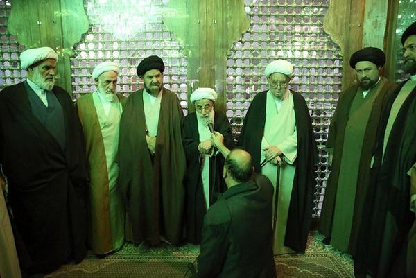قدردانی آیتالله جنتی از سید حسن خمینی به خاطر ساحت حرم امام