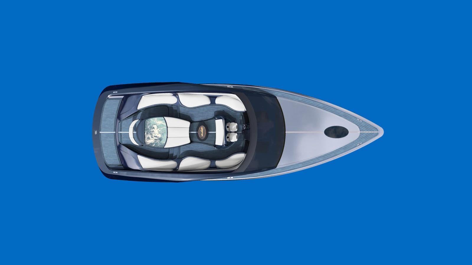 بوگاتی، روی آب