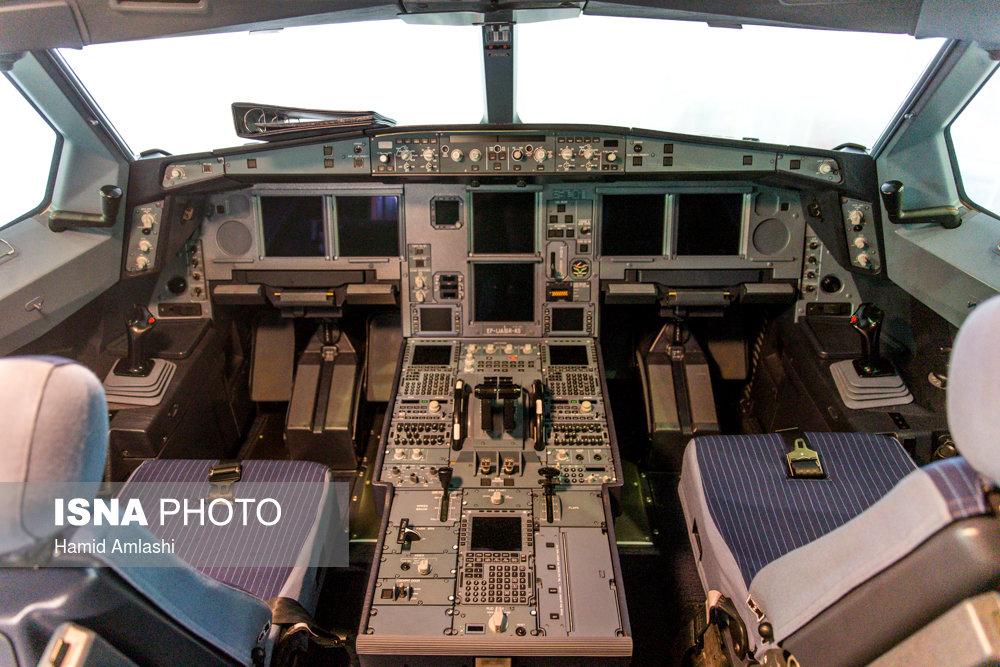 اولین ایرباس 330 جدید ایران عکس