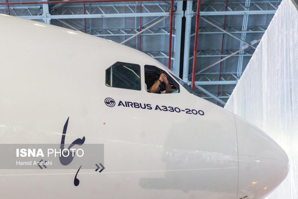 اولین ایرباس 330 تحویلی ایران ایرباس 330 در مهرآباد - سایت خبری تحلیلی شفاف