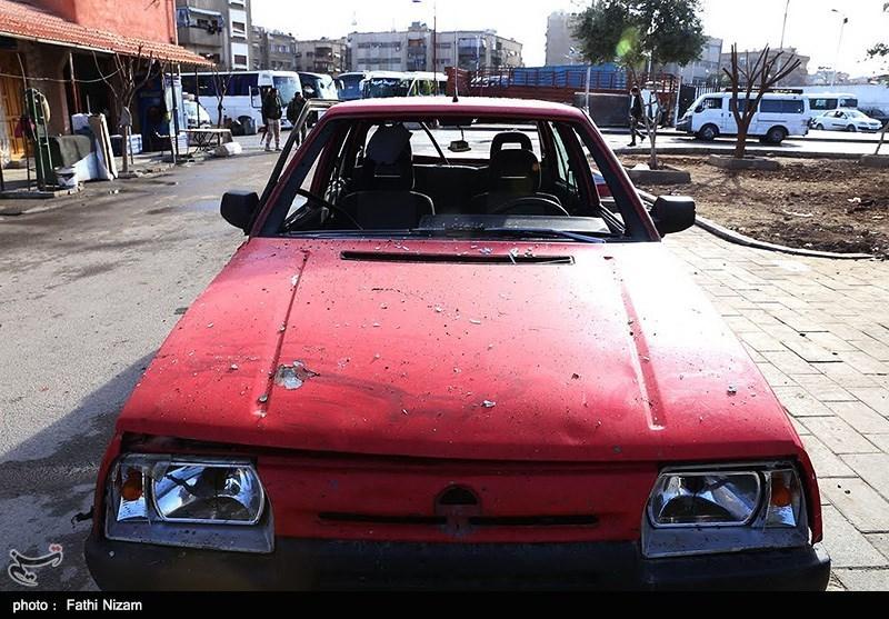 پایتخت سوریه ساعتی پس از انفجارهای تروریستی (+عکس)
