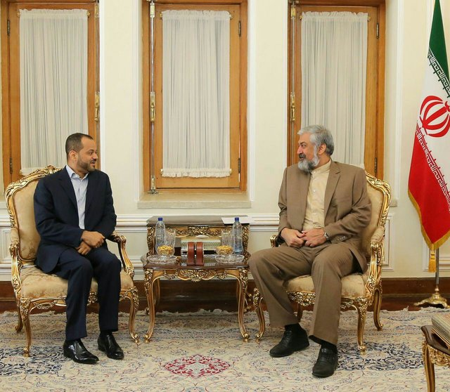 دیدار قائم مقام وزیر امور خارجه عمان با همتای ایرانی در تهران
