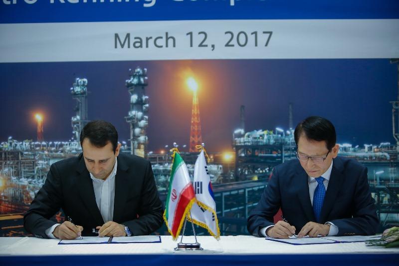 امضای قرارداد نفتی 3 میلیاردلاری ایران و هیوندای کره جنوبی