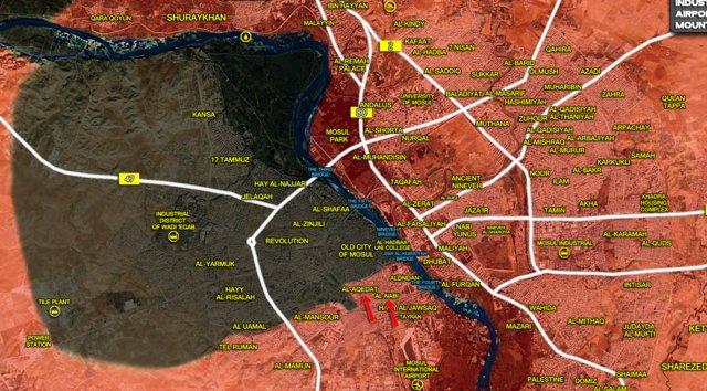 داعش در غرب موصل محاصره شد