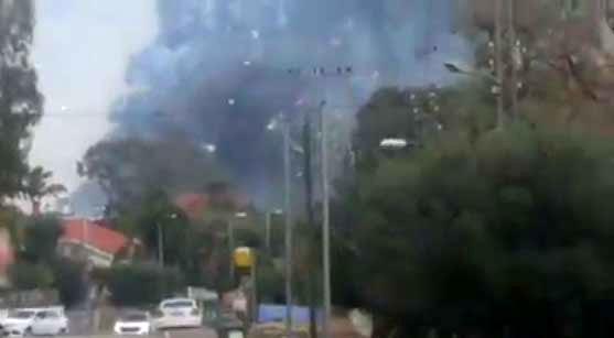 انفجار در یک کارخانه در اسرائیل