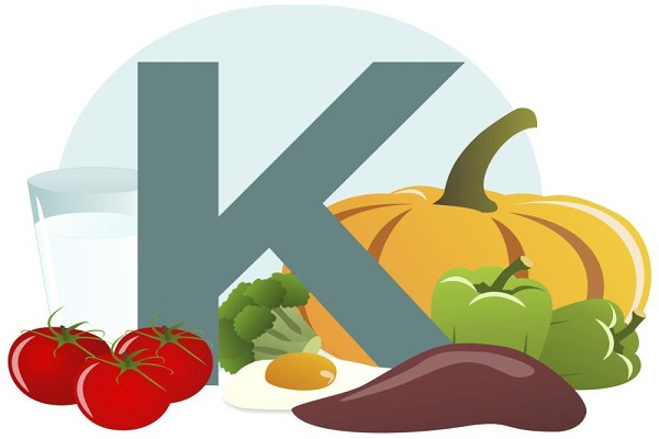 فواید سلامت ویتامین K