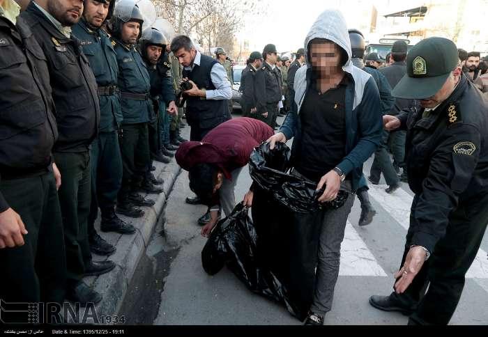 تنبیه اجتماعی دستگیرشدگان 4شنبه سوری (+عکس)