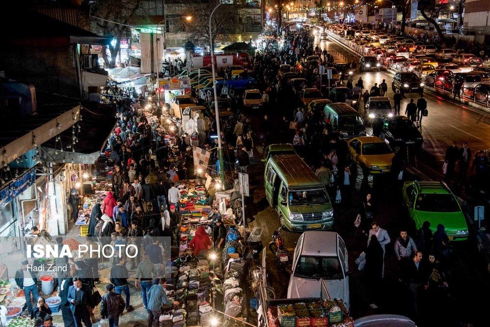 بازار تهران در آستانه شب عید (+عکس)