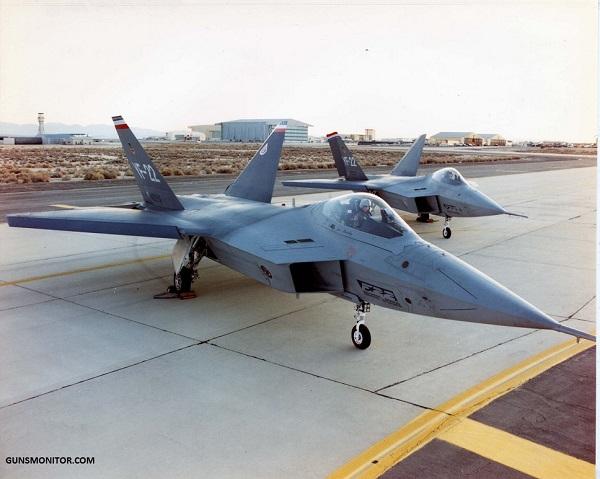 جنگنده ای خاصی که فقط دو فروند از آن تولید شد!(+عکس)
