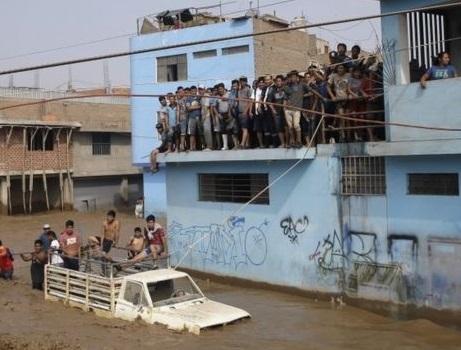 70 کشته در سیل پرو
