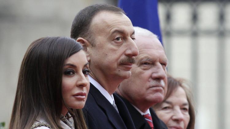 رئیس جمهور آذربایجان همسرش را معاون اول رئیس جمهور کرد