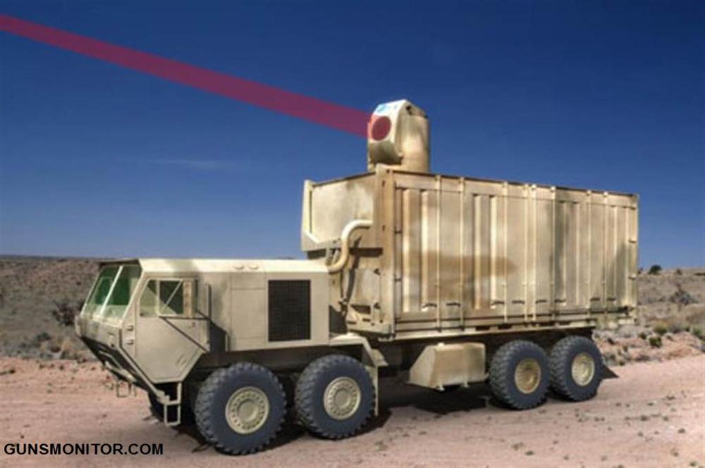 سلاح لیزری که محافظ یک گردان است!(+عکس)