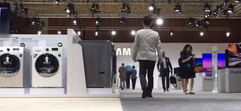 رونمایی از جدیدترین تکنولوژی های سامسونگ در «منا فروم» (+عکس)