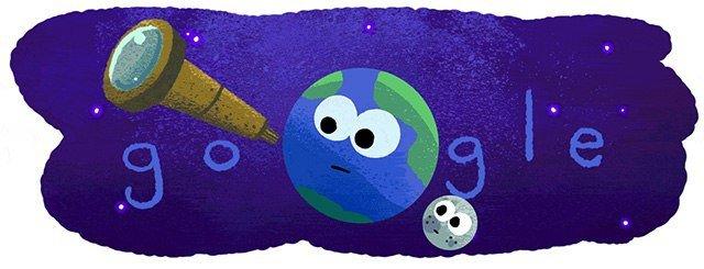 تغییر لوگوی گوگل به مناسبت کشف 7 سیاره مشابه زمین