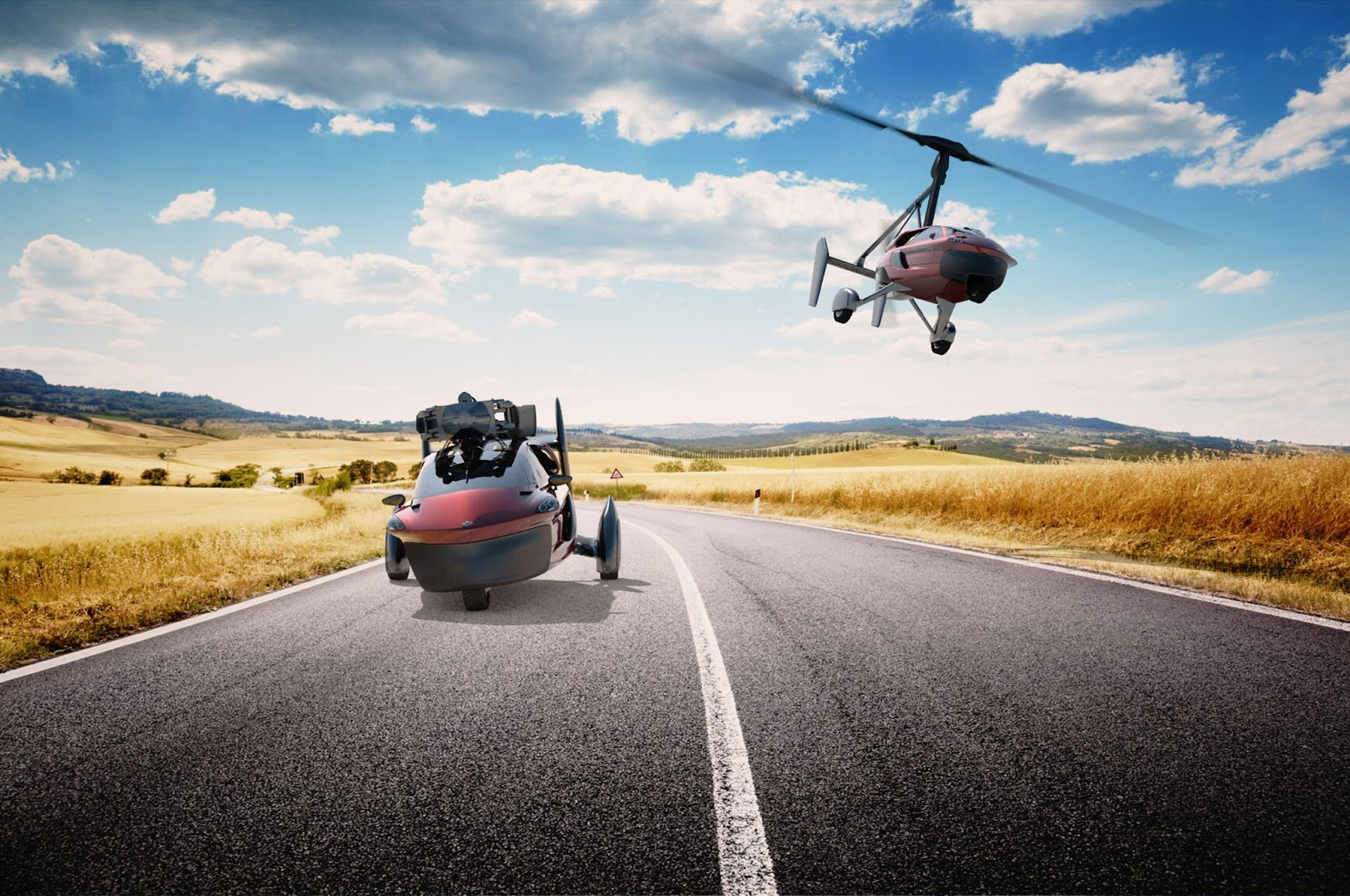 موتورسیکلت پروازی، هواخودرو و حراج فراری ترامپ در یک هفته خودرویی