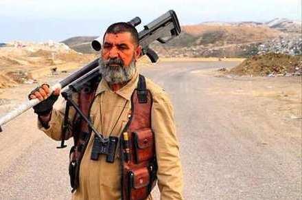 این تکتیرانداز مسن عراقی بلای جان ۳۲۱ داعشی شد (+عکس)