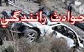 3 کشته و 2 مجروح در تصادف جاده فرمهین - اراک