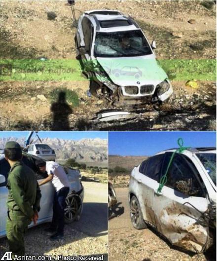 تصادف شدید BMW لوکس در ایران (+عکس)
