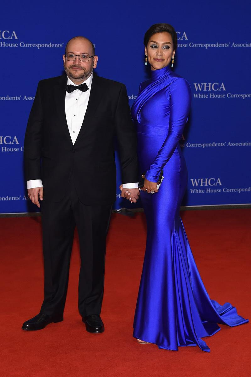 جیسون رضاییان و همسرش در شام کاخ سفید ( عکس)