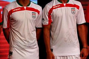 از لباس جدید تیم ملی رونمایی شد (+عکس)