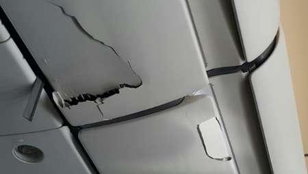 زخمی شدن 31 مسافر پرواز ابوظبی در چاله هوایی (+عکس)