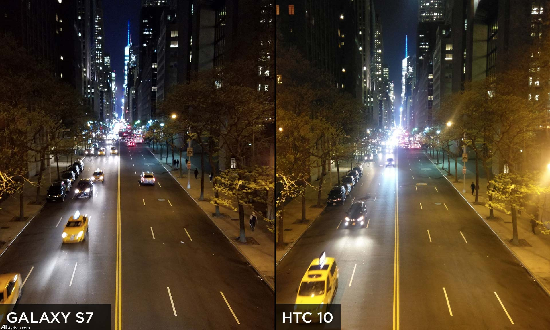مقایسه دوربین سامسونگ گلکسی S7 و اچتیسی 10