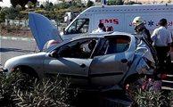 1 کشته و 2 زخمی در تصادف پژو ۲۰۶ با ایسوزو