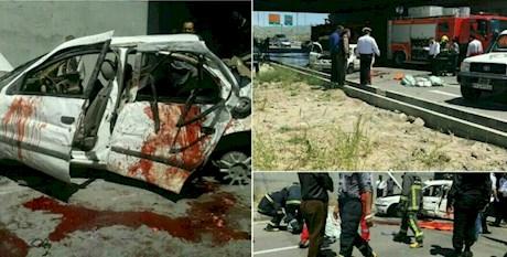 مرگ دلخراش ۳ دختر دانشجو در حادثه رانندگی (+عکس)
