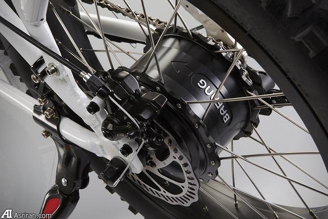دوچرخه الکتریکی تاشو رادمینی