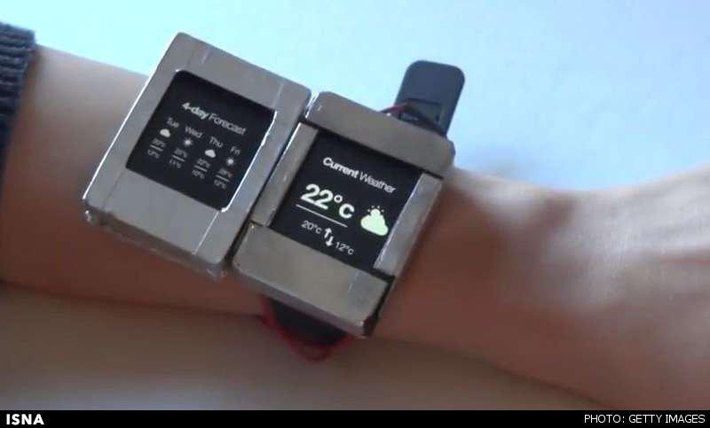 نخستین ساعت هوشمند جهان با دو نمایشگر