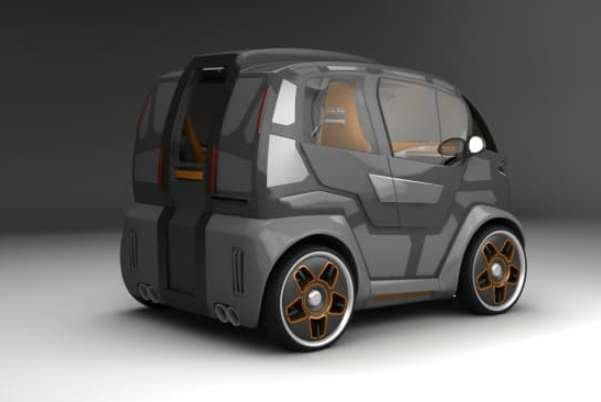خودروی روسی با طراحی داخلی شبیه هواپیما