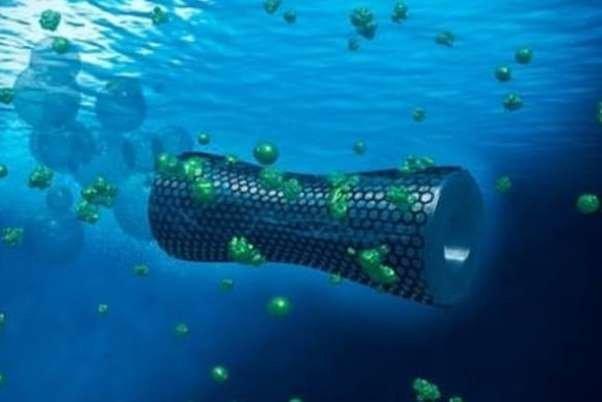 روباتی که آبهای آلوده را پاکسازی میکند