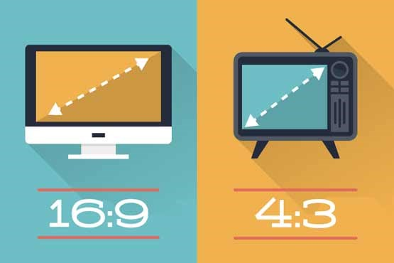 16:9 : نسبت طلایی در صفحه عریض تلویزیون