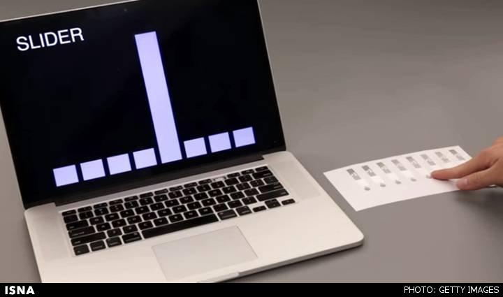 ساخت کاغذ هوشمندی که فرامین حرکتی را درک میکند