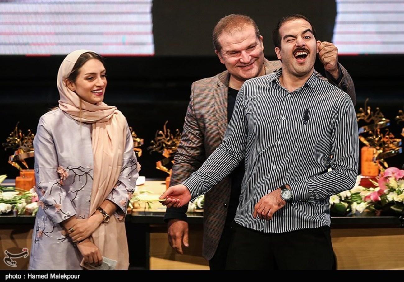 حاشیه جشن پایان سریال شهرزاد (+ عکس)