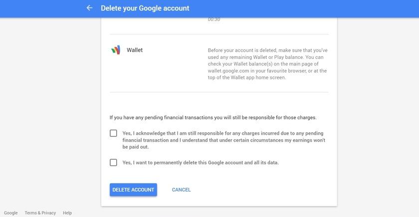 چگونه اکانت گوگل یا جیمیل خود را حذف کنیم؟!
