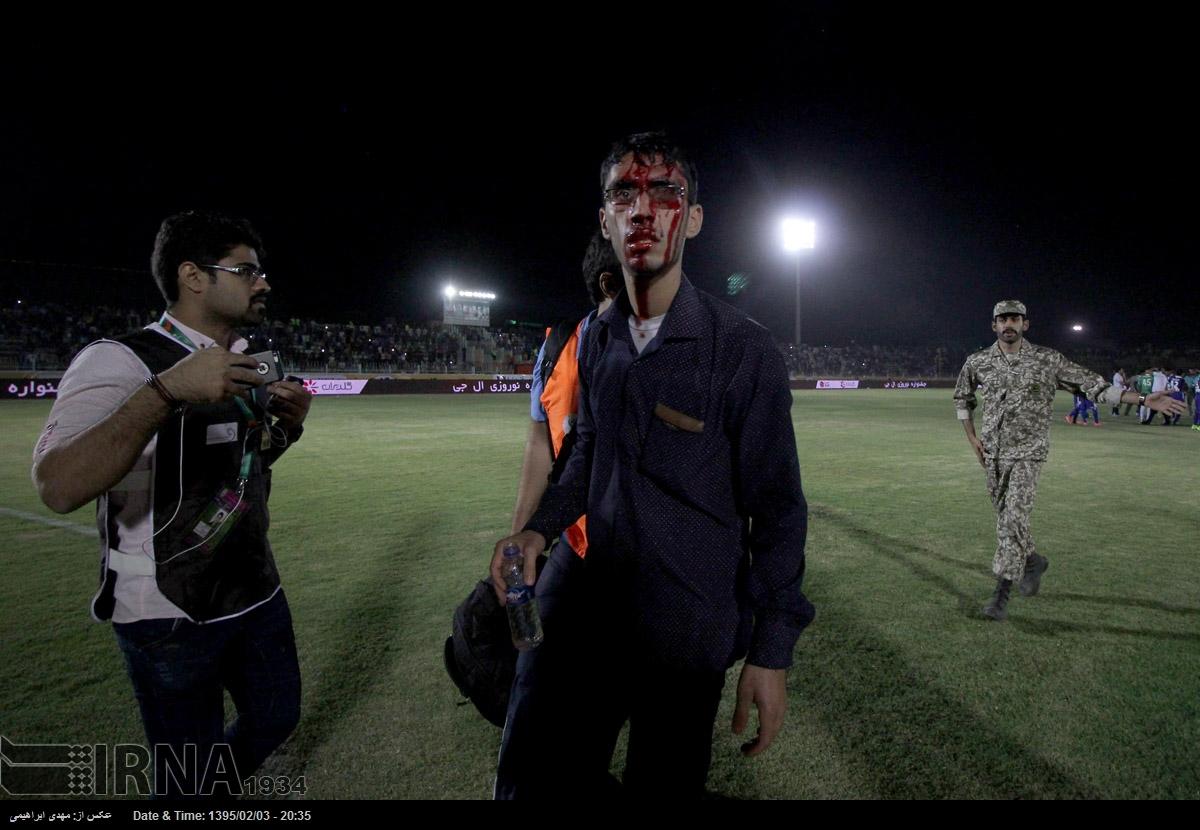 درگیری های خونین پس از بازی پرسپولیس(+عکس)