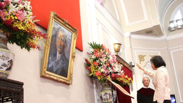 ادای سوگند نخستین رییس جمهور زن تایوان (+عکس)