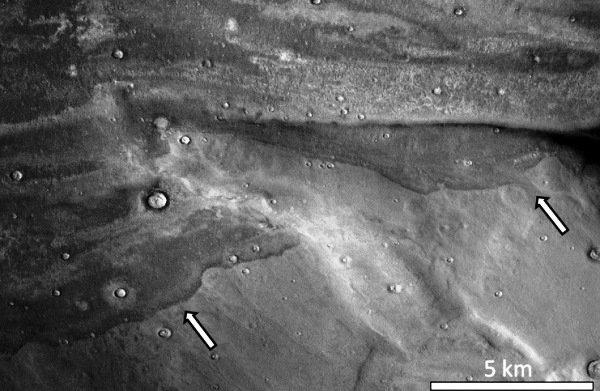 کشف آثار سونامی های عظیم در مریخ