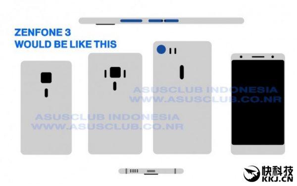 انتشار تصویری واقعی از ZenFone 3 ایسوس