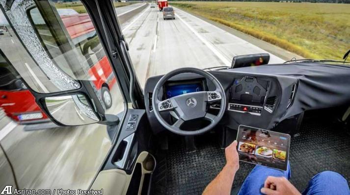 گزارش عصر ایران از کامیونهای بیسرنشینی که در زمینه حمل نقل فعالند