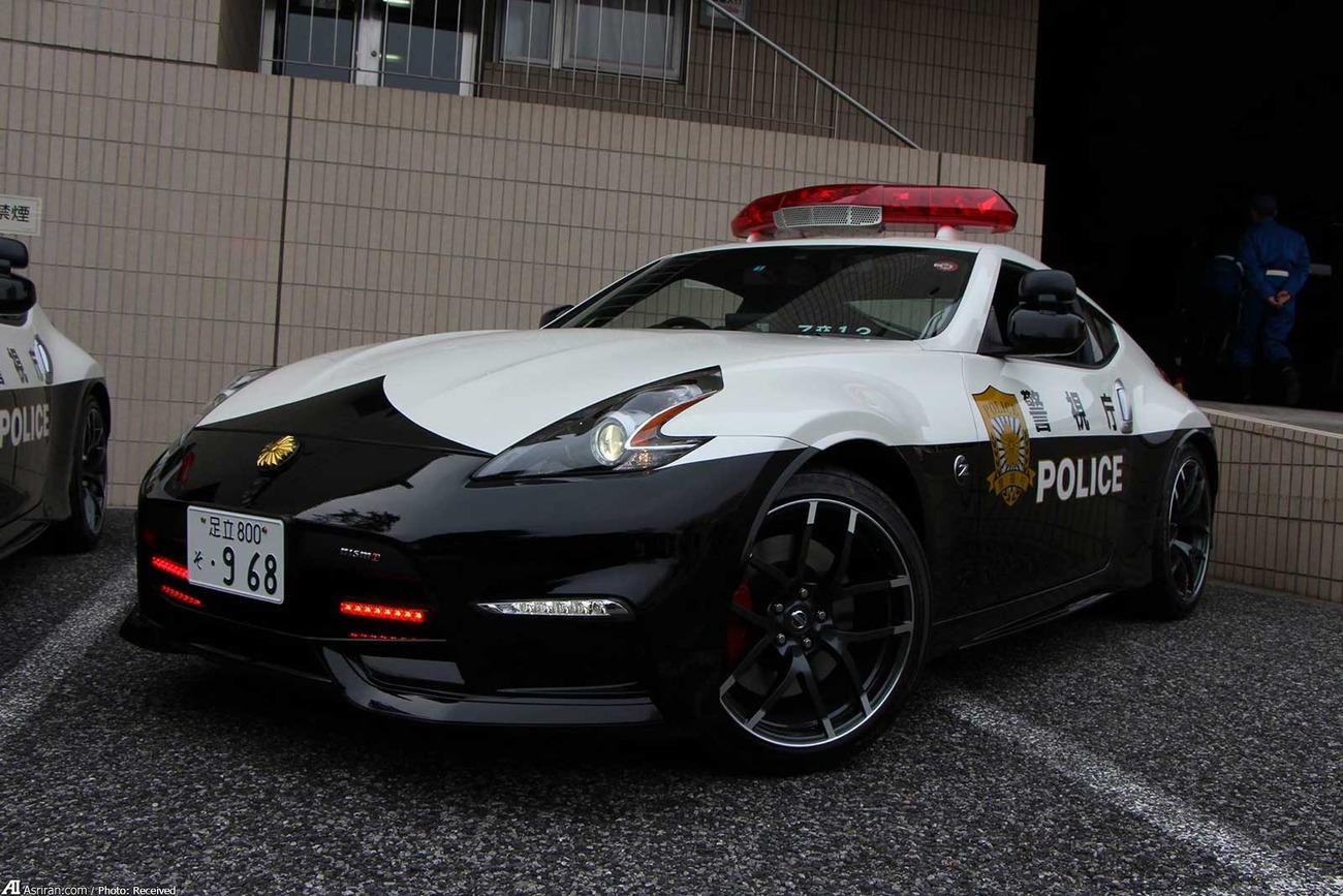 ماشین پلیس در ژاپن (+عکس)