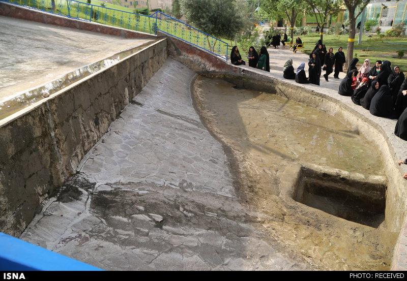 تصاویری از محل قربانی شدن فاطمه کوچولو در پارک کوهسار