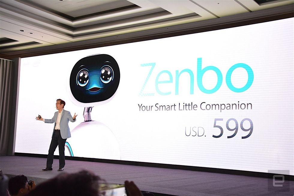 ZenBo روبات خانگی ایسوس معرفی شد