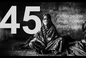 وجود بیش از 45 میلیون برده در جهان در سال 2016 (+نقشه و نمودار)
