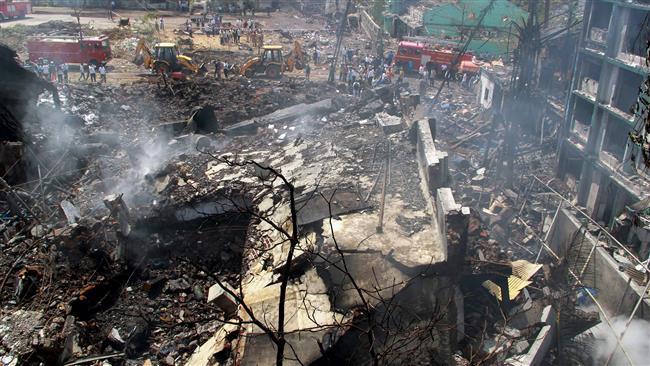 آتشسوزی در انبار مهمات نظامی هند/ 17 کشته و 19 زخمی