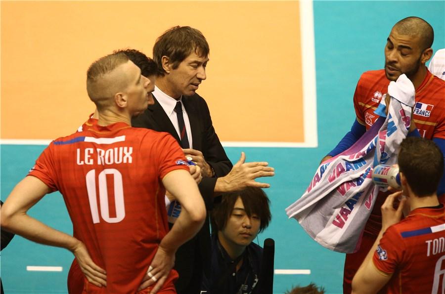 فرانسه 3 - 0 ایران / تیم ملی والیبال پراشتباه و نامطمئن